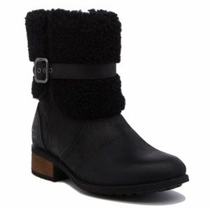 Authentic UGG Blayne 2 shearling cuff boots